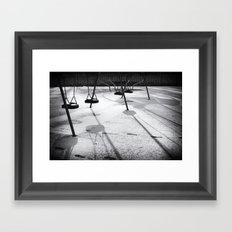 Early morning Framed Art Print