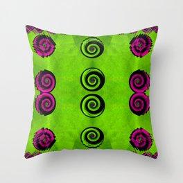 Decorative dots Throw Pillow