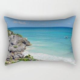 Mexico Oil Style Rectangular Pillow