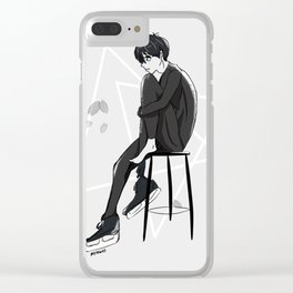 Yuri On Ice - Yuuri Katsuki Clear iPhone Case