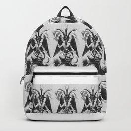 Baphomet pattern Backpack