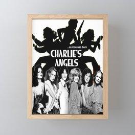 Charlies angels Framed Mini Art Print