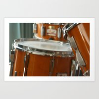 drums Art Prints featuring Drums by TilenHrovatic