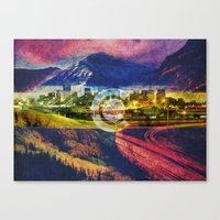 colorado Canvas Prints featuring Colorado by Tim Perri