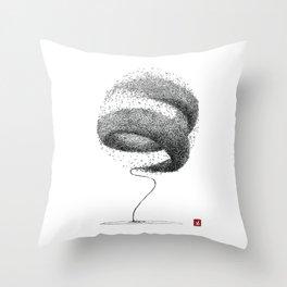 Souffle Throw Pillow
