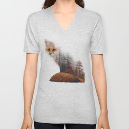 Misty Fox Unisex V-Neck