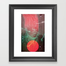 Painful Thoughts Framed Art Print