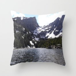 Bear Lake - Rocky Mountain National Park Throw Pillow