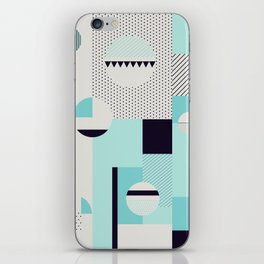 Picnic on the beach iPhone Skin