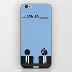 Scanners - Altenative Movie Poster iPhone & iPod Skin
