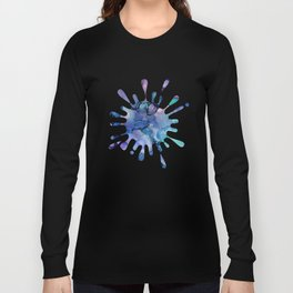 Abstract Alcohol Ink Painting 2 Long Sleeve T-shirt