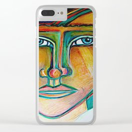 Seen Clear iPhone Case