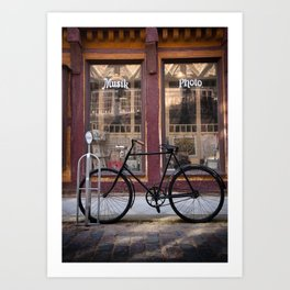 Old Bicycle Art Print