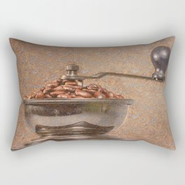 Coffee time/Kaffeezeit Rectangular Pillow