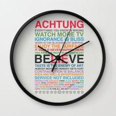 U2 ZOO TV Wall Clock