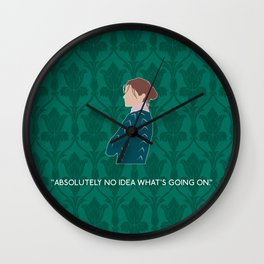 The Lying Detective - Molly Hooper Wall Clock