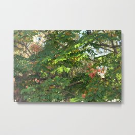 FAIRY Autumn Walk  Metal Print