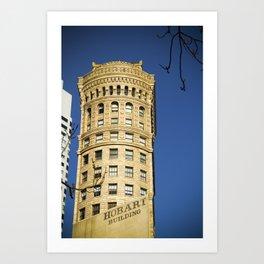 hobart/building Art Print