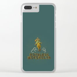 ruthless acorn motorclub Clear iPhone Case