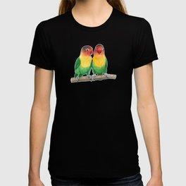 Fischer's lovebirds T-shirt