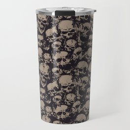 Skulls Seamless Travel Mug
