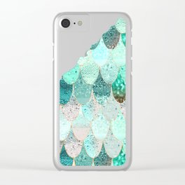 SUMMER MERMAID Clear iPhone Case