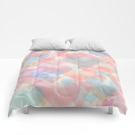 Floating Hearts Comforters