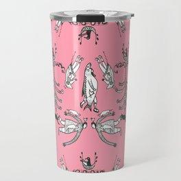 Pink inuit Travel Mug