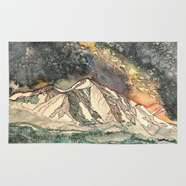 Mount Sopris and the Galaxy Rug