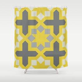 Arabesque Pattern Fifteen Shower Curtain