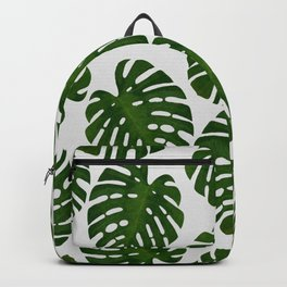 Monstera Leaf III Backpack