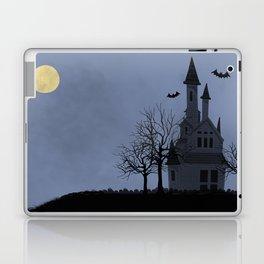 Halloween Haunted House Laptop & iPad Skin
