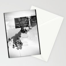 Landscapes (35mm Double Exposure) Stationery Cards
