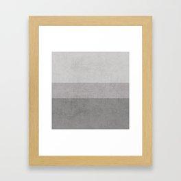 classic - the grays Framed Art Print
