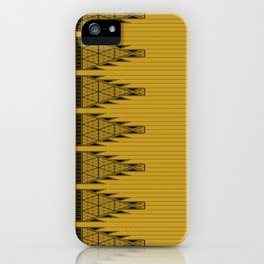 The Lodge (Gold) iPhone Case