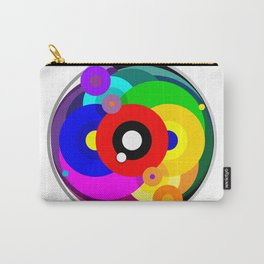 Kaleidoscope Color Wheel Carry-All Pouch