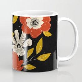 Maroon Anemones Coffee Mug