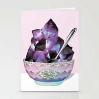 dessert Stationery Cards featuring DESSERT by Beth Hoeckel