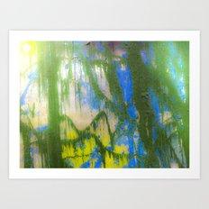RAIN FOREST SUN Art Print