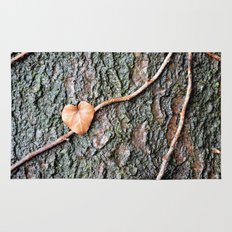 Heart and tree Rug