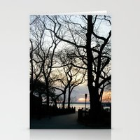 brooklyn Stationery Cards featuring Brooklyn by Devin Stout