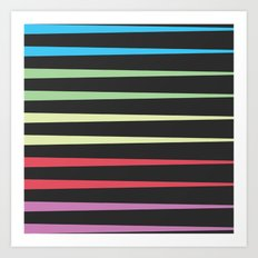 Trianglebow Art Print