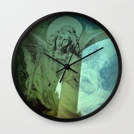 Get close to Heaven Wall Clock