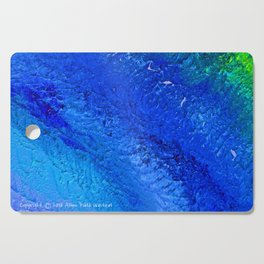 """""""Riptide #4"""" Oil Painting Cutting Board"""