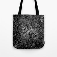 pittsburgh Tote Bags featuring pittsburgh map by Line Line Lines