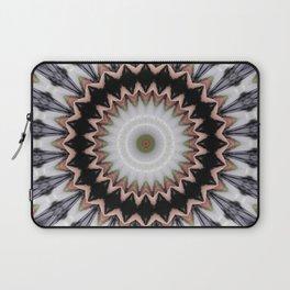 Abstract twined mandala Laptop Sleeve