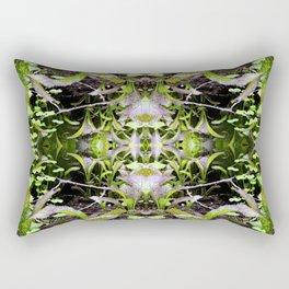 Mustard Greens & Sorrel Garden Rectangular Pillow