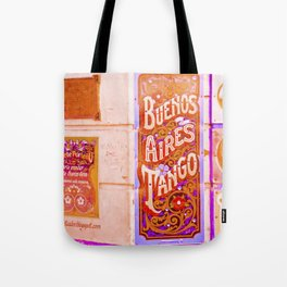 Tango Buenos Aires, Argentina. Tote Bag