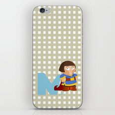 n for noble iPhone & iPod Skin