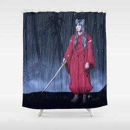 Jungkook/Inuyasha Shower Curtain